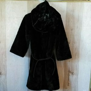💥SALE💥 Shelli Segal Faux Fur Coat & Scarf S